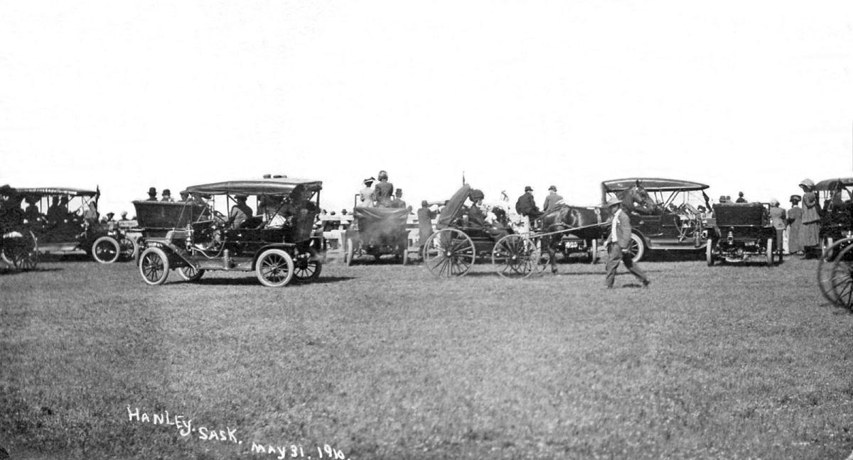 Hanley, Saskatchewan, May 31, 1910