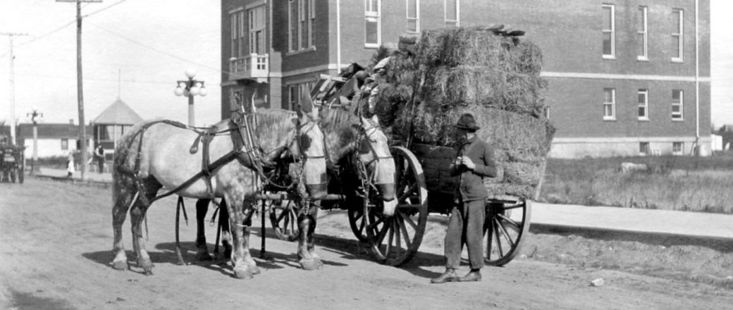Vintage: Everyday Life in Saskatchewan, Canada (early 20th Century)