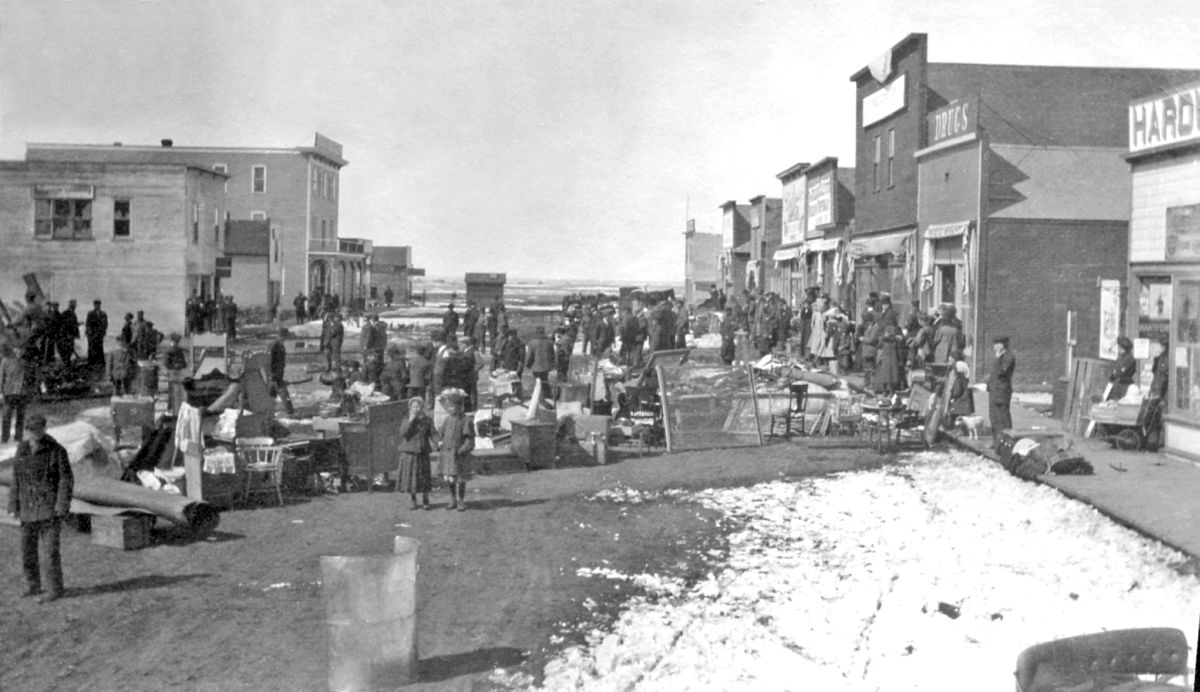 Langham, Saskatchewan, 1909