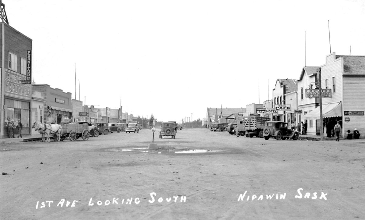 1st Avenue looking south, Nipawin, Saskatchewan