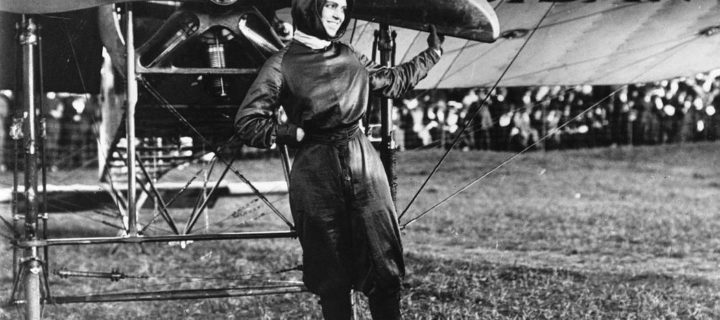 Vintage: Harriet Quimby, the First Licensed U.S. Woman Pilot (1910s)