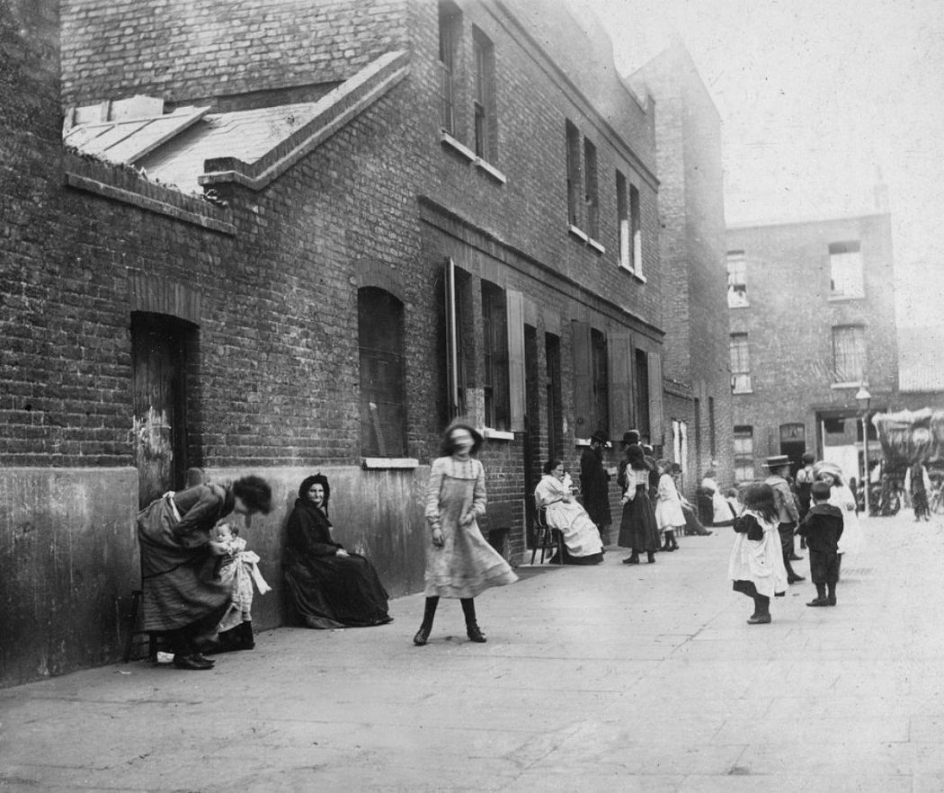 Уайт Чапел, Лондон, 1902