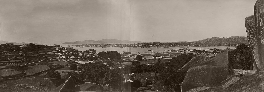 Panorama of Gulangyu Island and Amoy