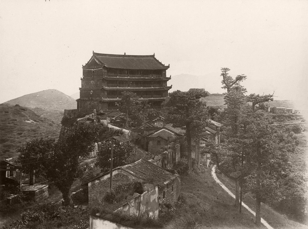 Five Stories Pagoda Guangzhou, c1880