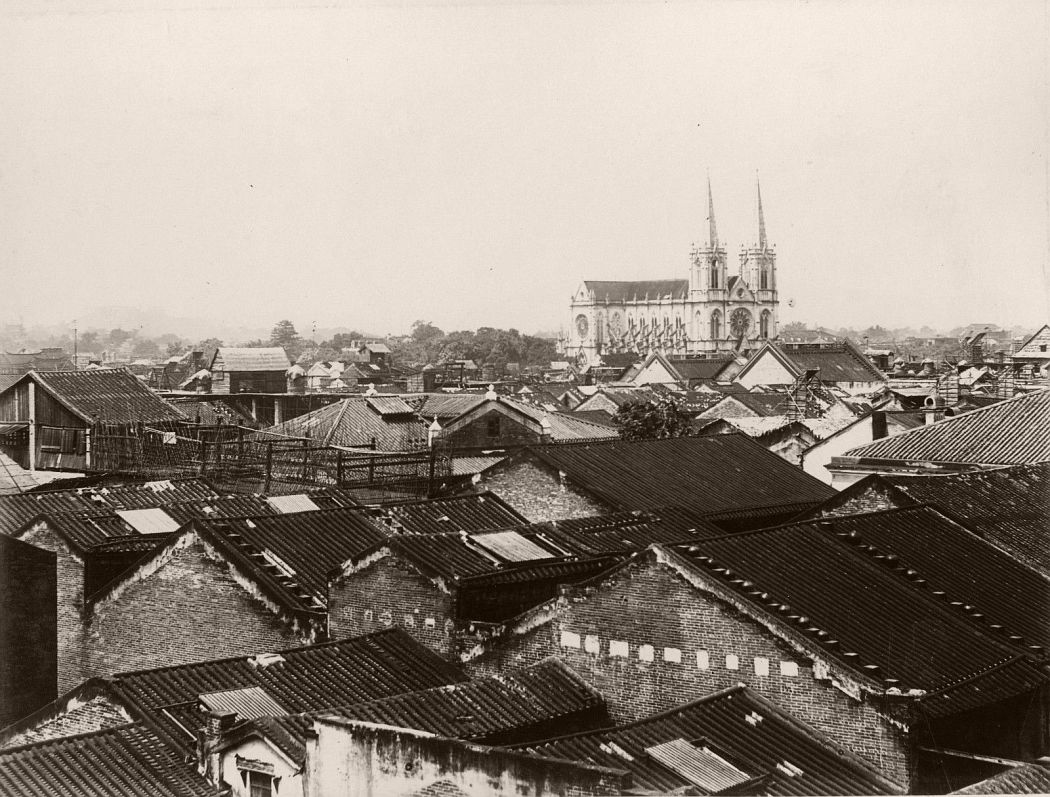 Sacred Heart Cathedral Guangzhou, c1880