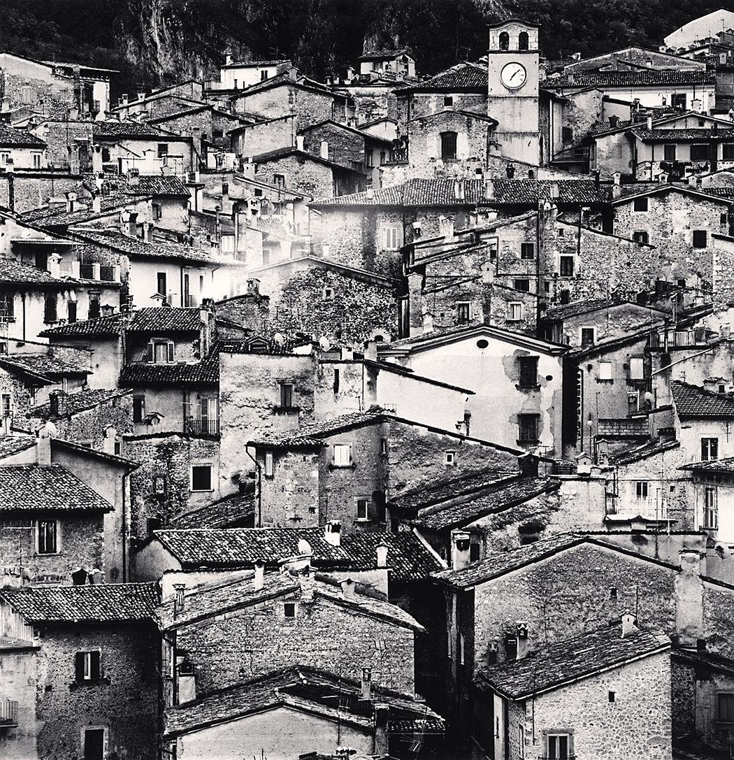 Michael Kenna, Homage to Giacomelli, Scanno, Abruzzo, Italy. 2016