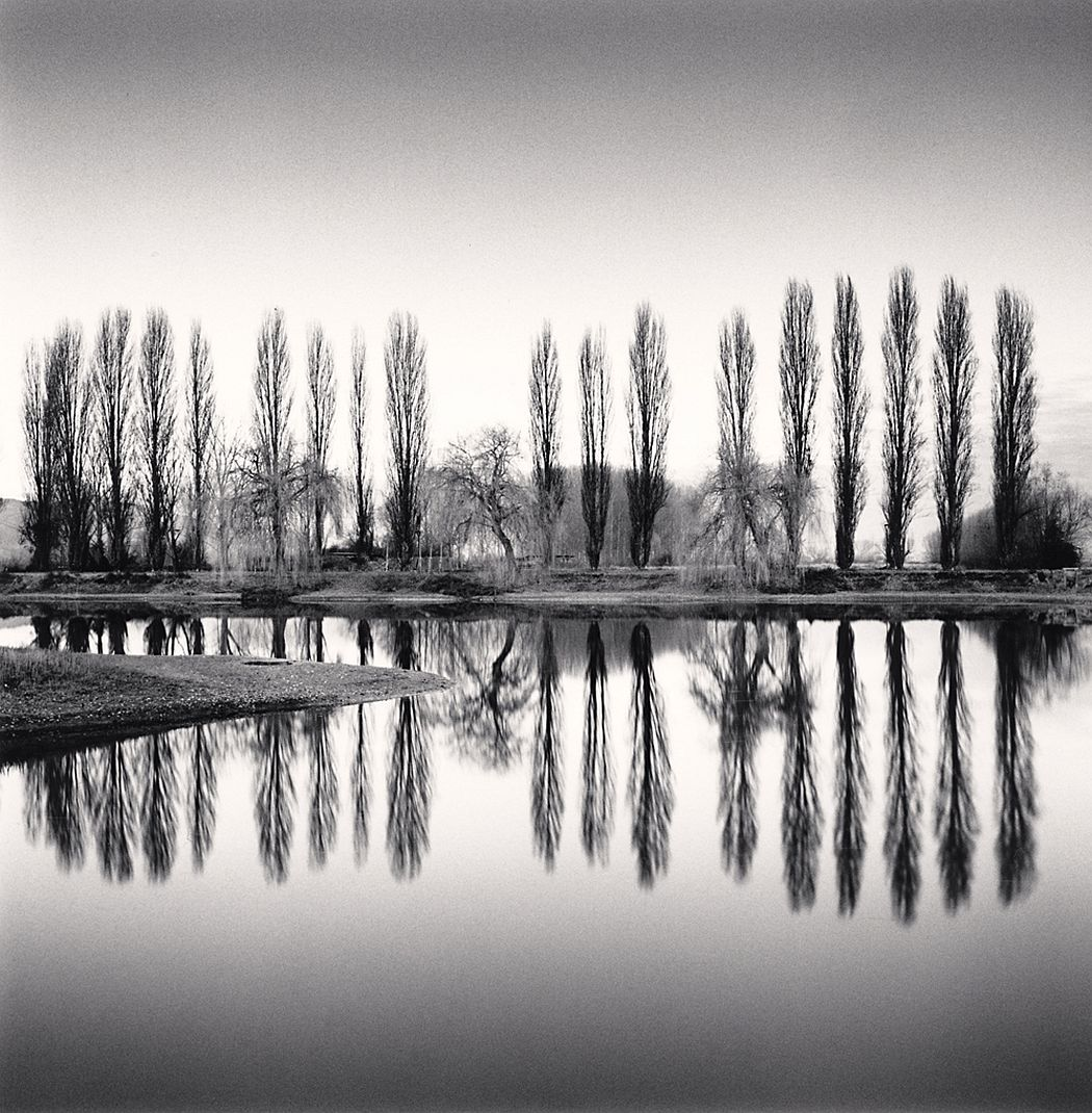 Michael Kenna, Ortucchio Lake Reflection, Fucino, Abruzzo, Italy. 2016