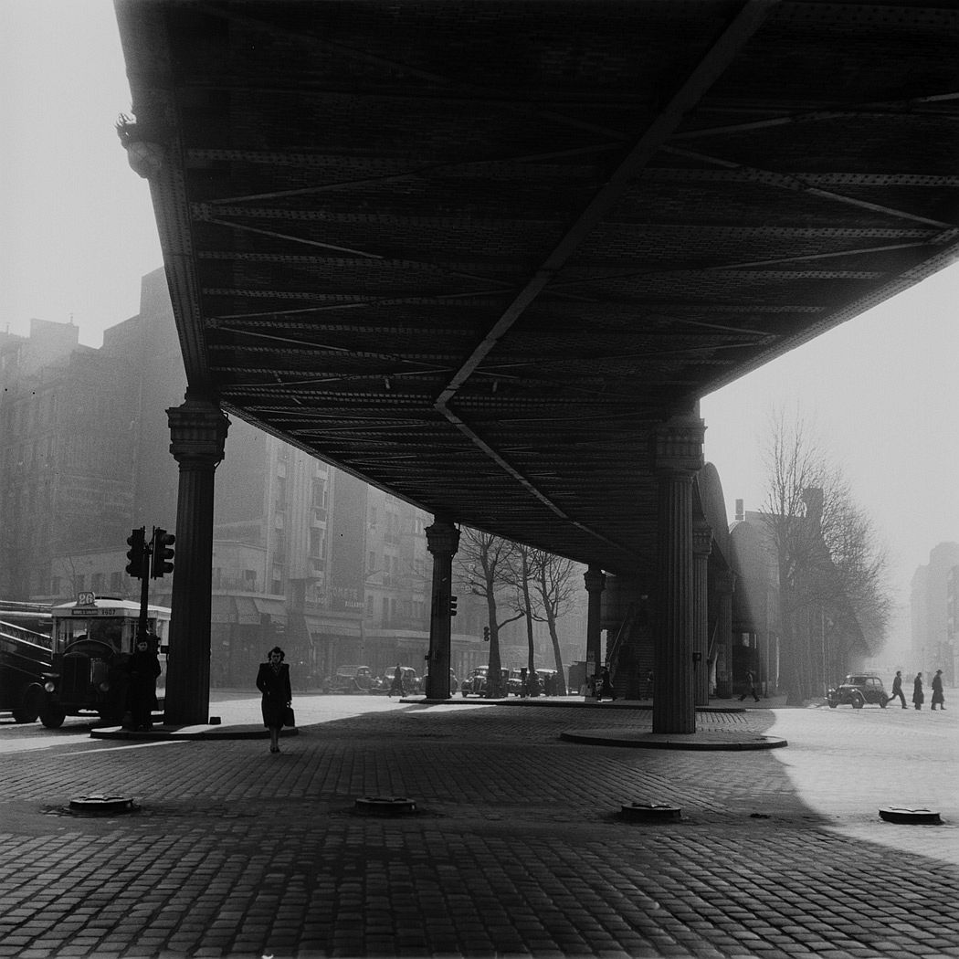 Station de métro Stalingrad Paris 1936