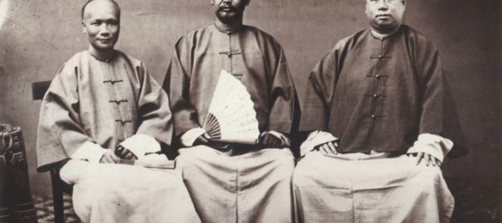 Vintage: Chinese People from Qing Dynasty (1860s)