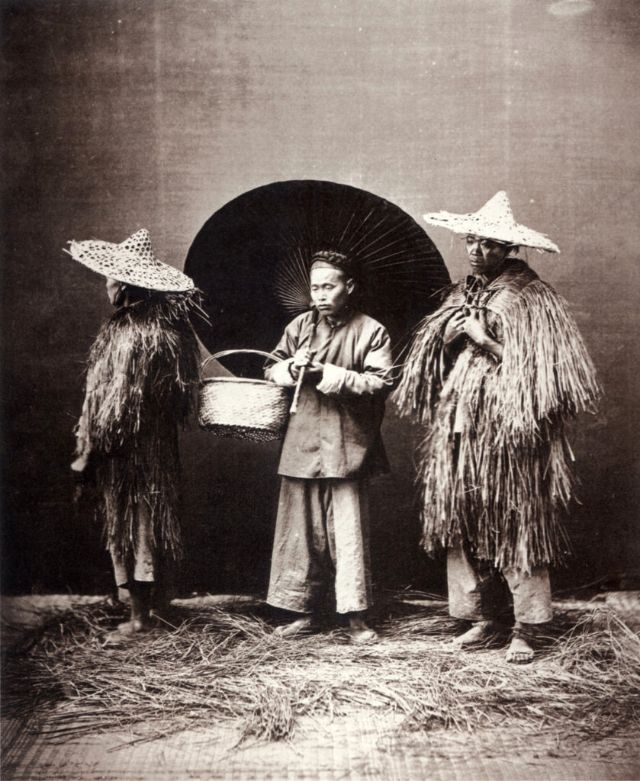 Wet weather, Shanghai, circa 1864