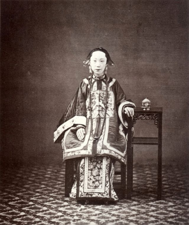 Wife of a mandarin, Canton, 1861-64