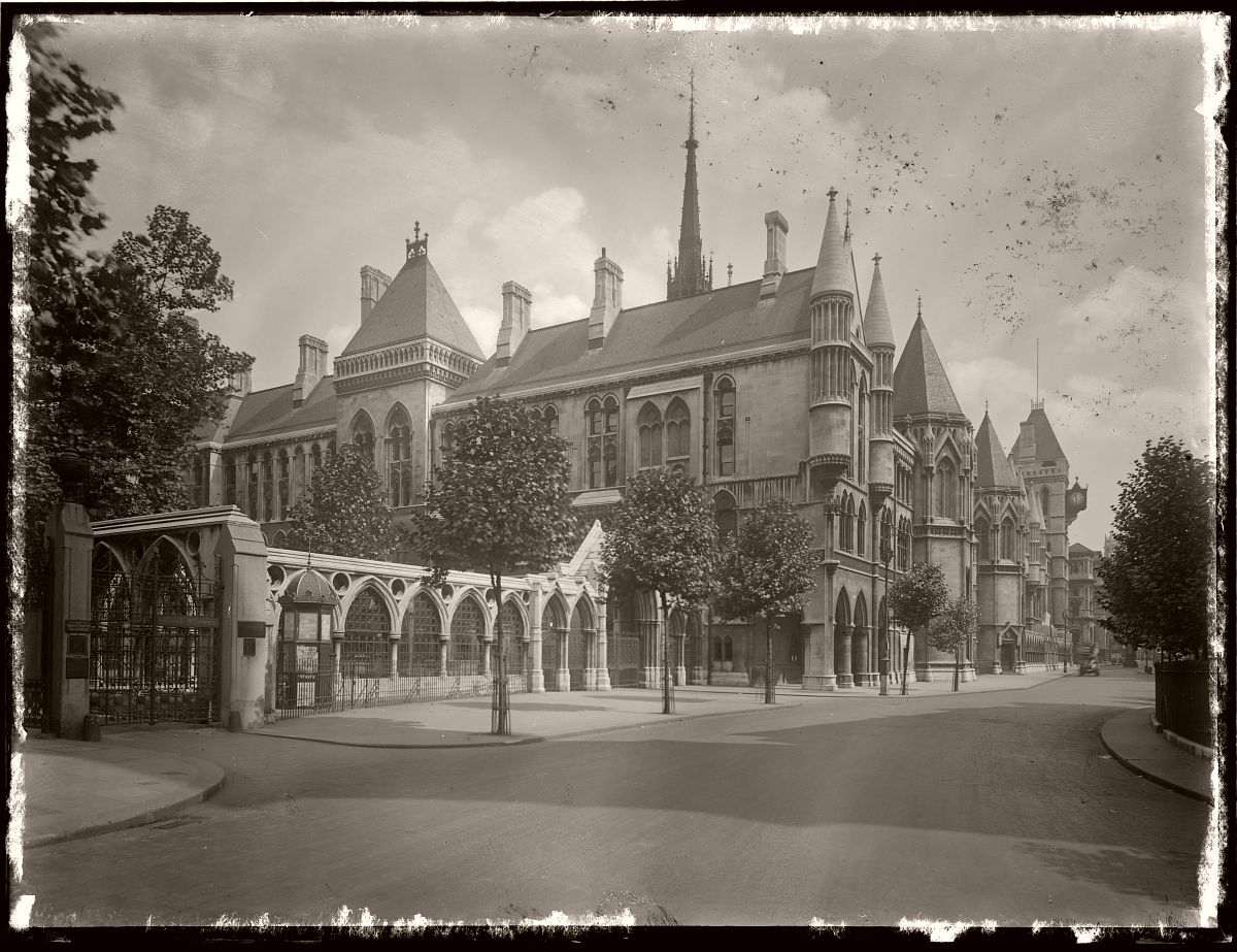 London, Rex Hazlewood, 1918-1919