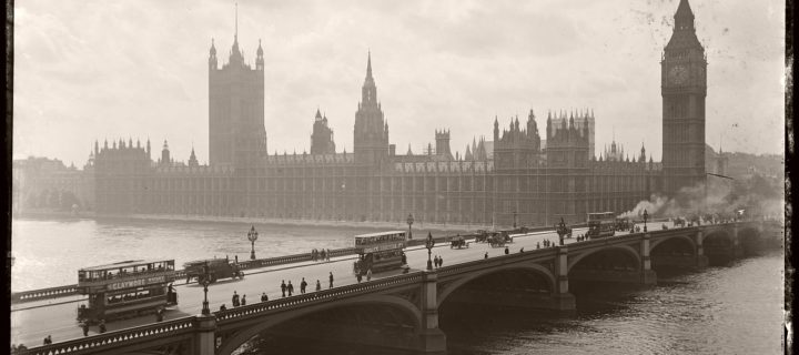 Vintage: London by Rex Hazlewood (1918-1919)
