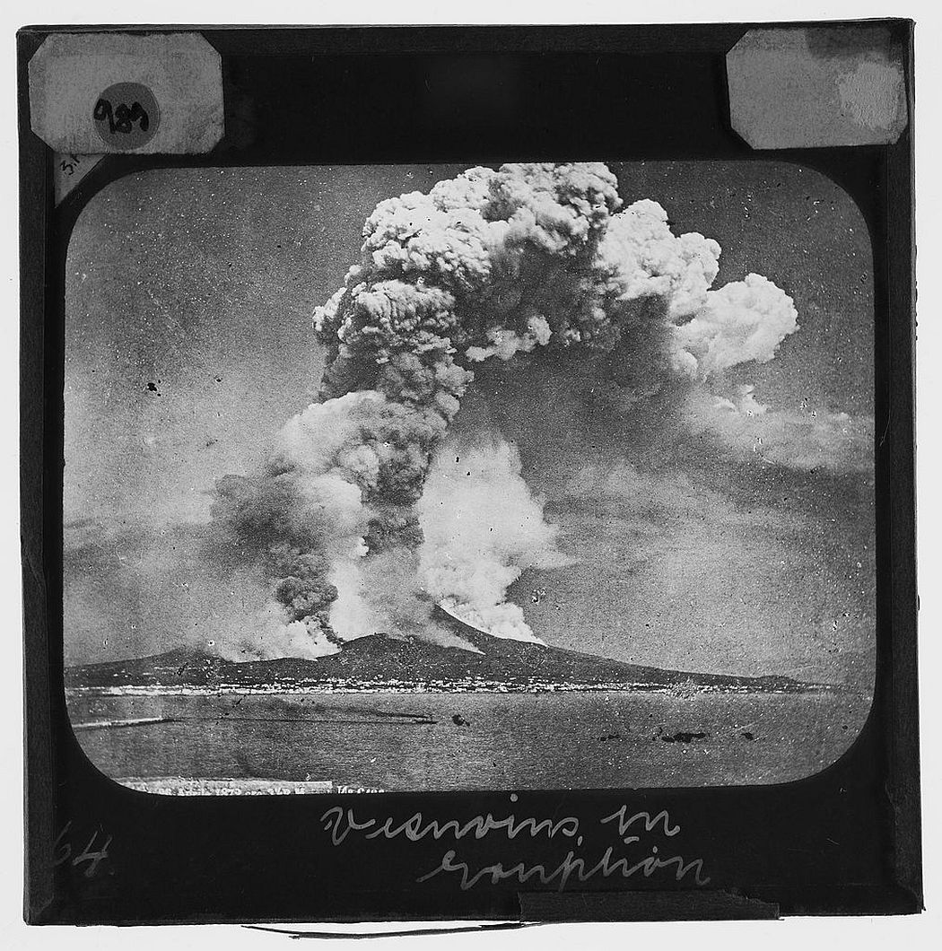Vesuvius in Eruption: taken from the sea (1906)