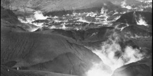 Vintage: Volcanoes and Avalanches by Tempest Anderson (1900s)