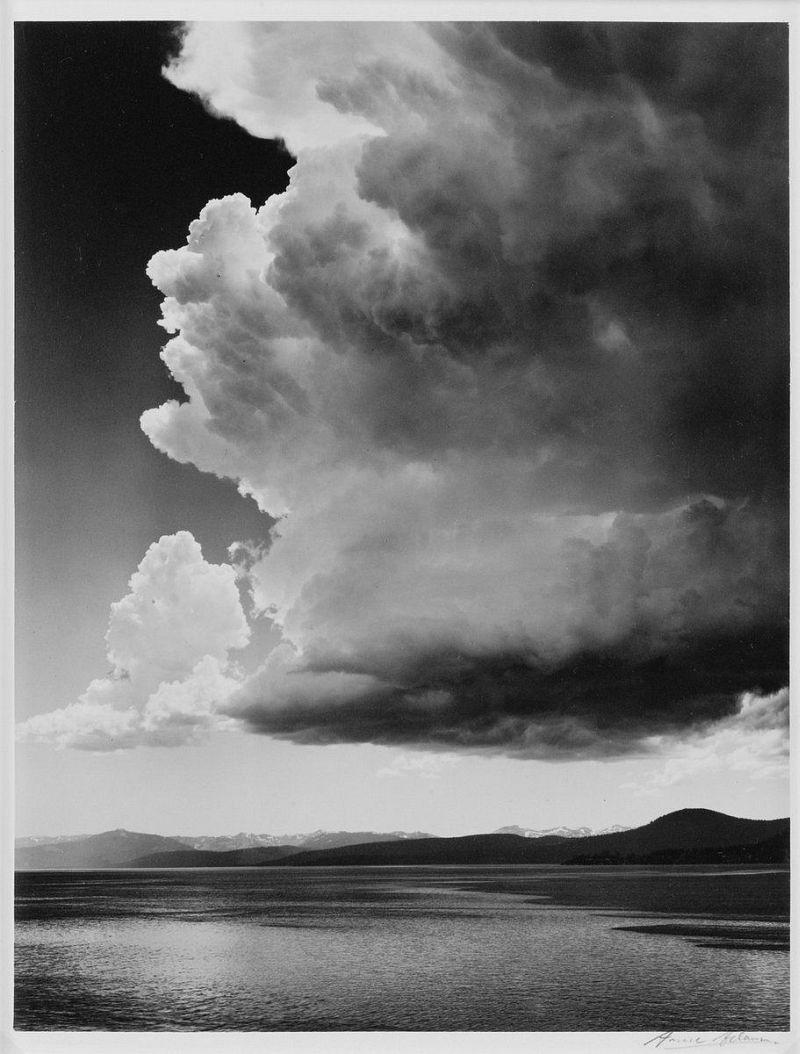 Ansel Adams, Thunderstorm, Lake Tahoe, 1936
