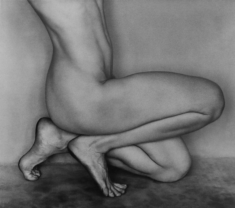 Edward Weston, Nude, Bertha, Glendale (62N), 1927