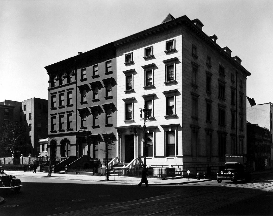 Berenice Abbott  Fifth Avenue Houses, 1936