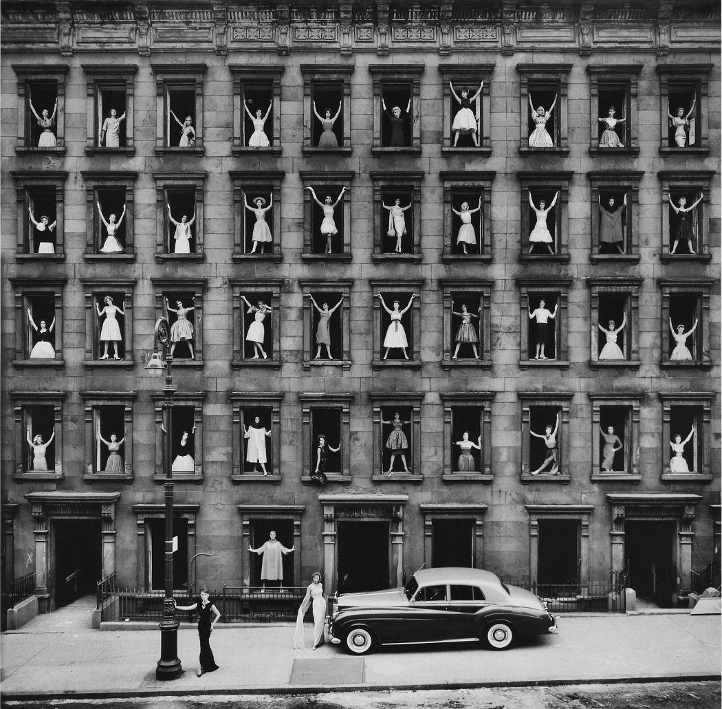 Ormond Gigli  Girls in the Windows, 1960