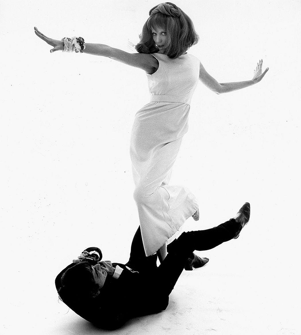 Bert Stern  David Bailey and Veruschka, VOGUE, New York, 1964