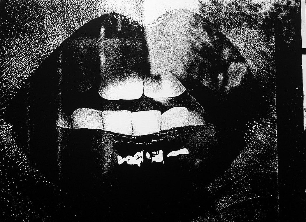 Visions of Japan, 1999 Silkscreen on canvas 47 1/4 x 64 1/8 in. (120 x 163 cm.) Edition of 3 © Daido Moriyama