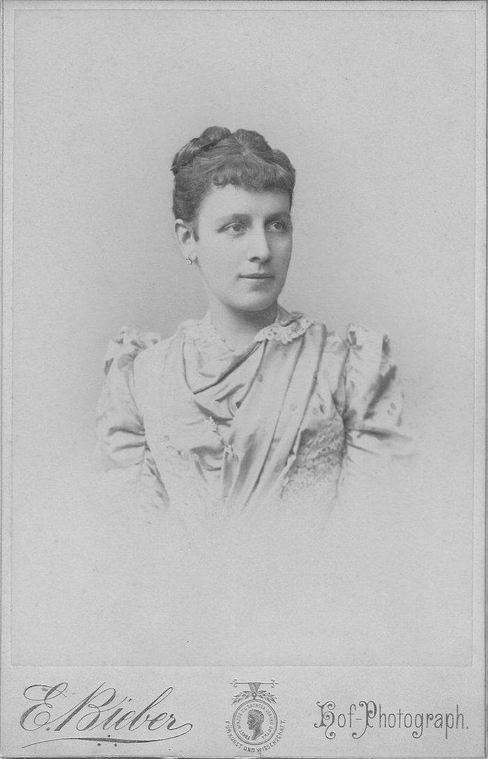 Cabinet Card by Emilie Bieber (1810–1884)