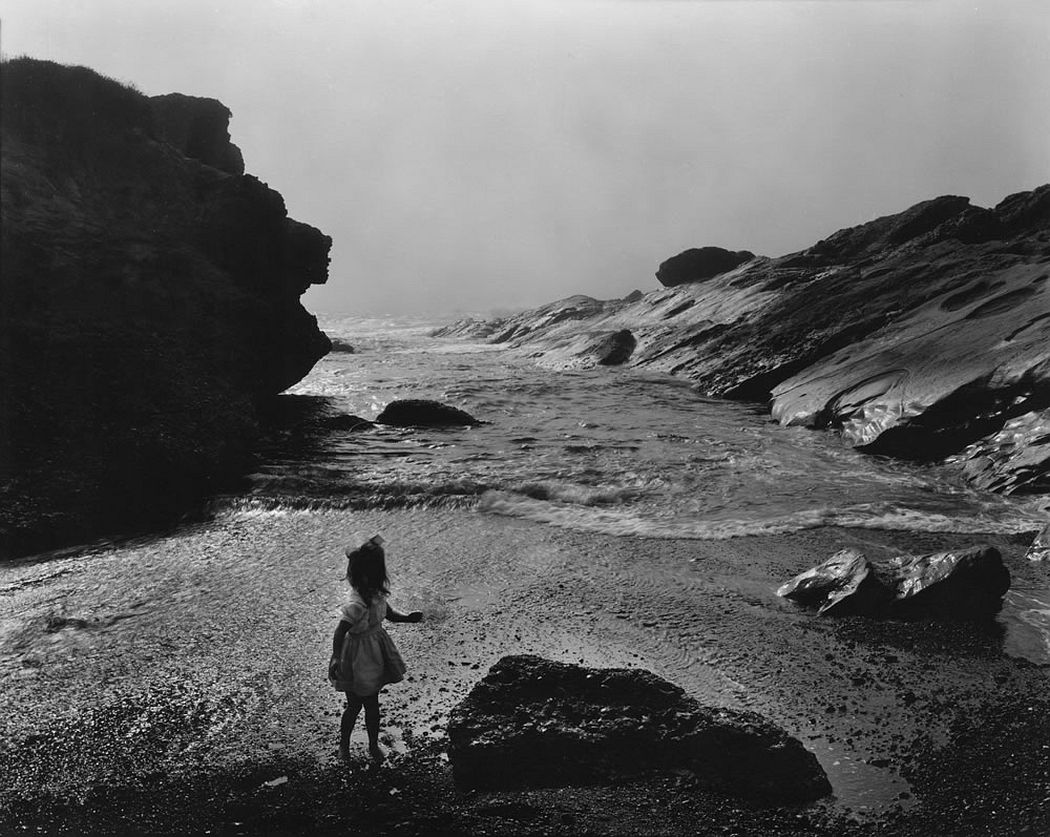 Wynn Bullock, Lynne, Point Lobos, 1956