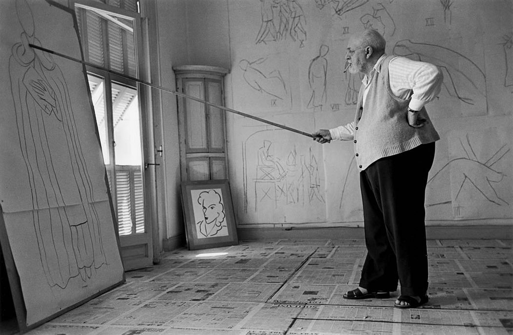 Cornell Capa, Matisse, 1949