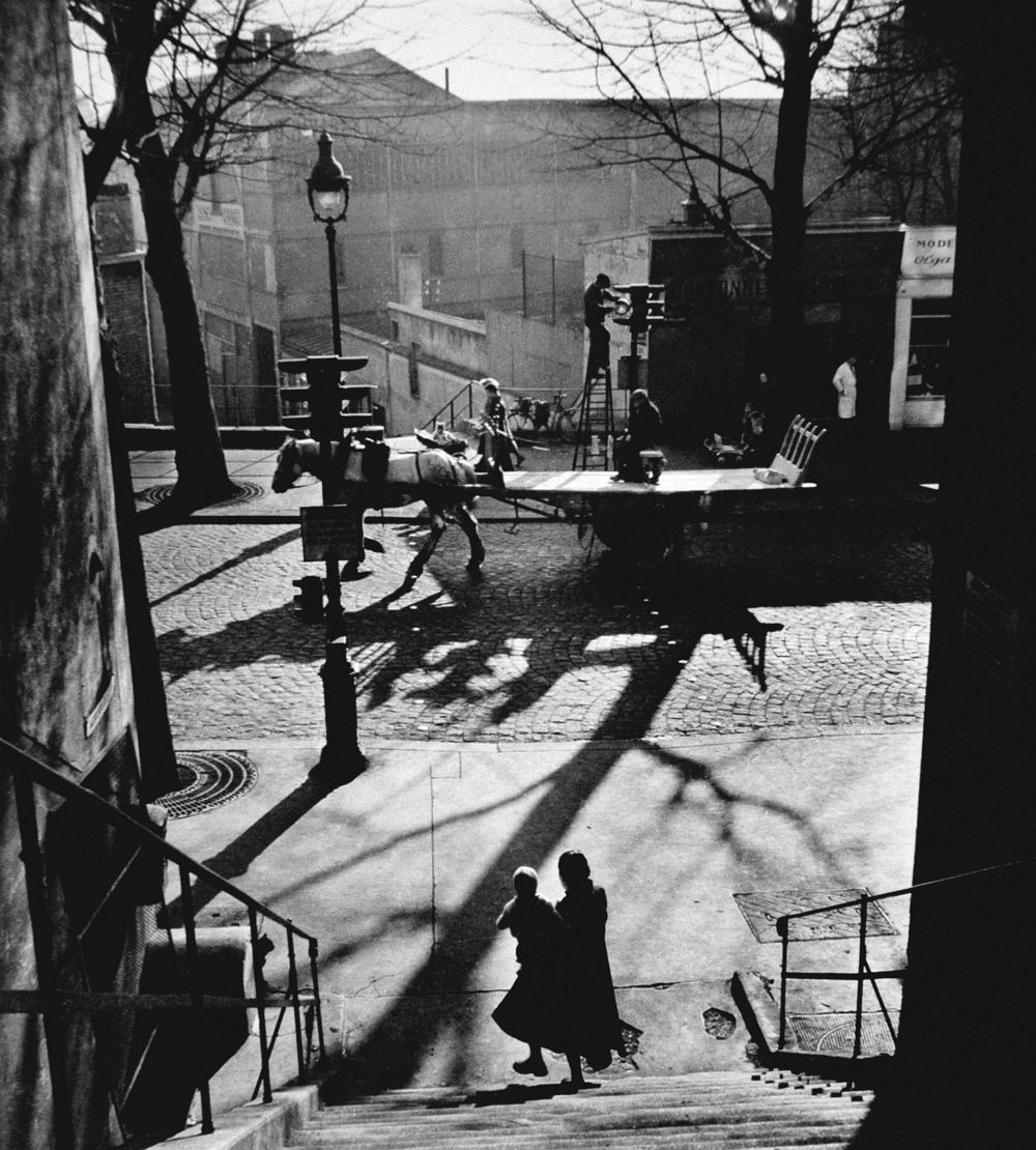 Willy Ronis, Avenue Simon Bolivar, 1950