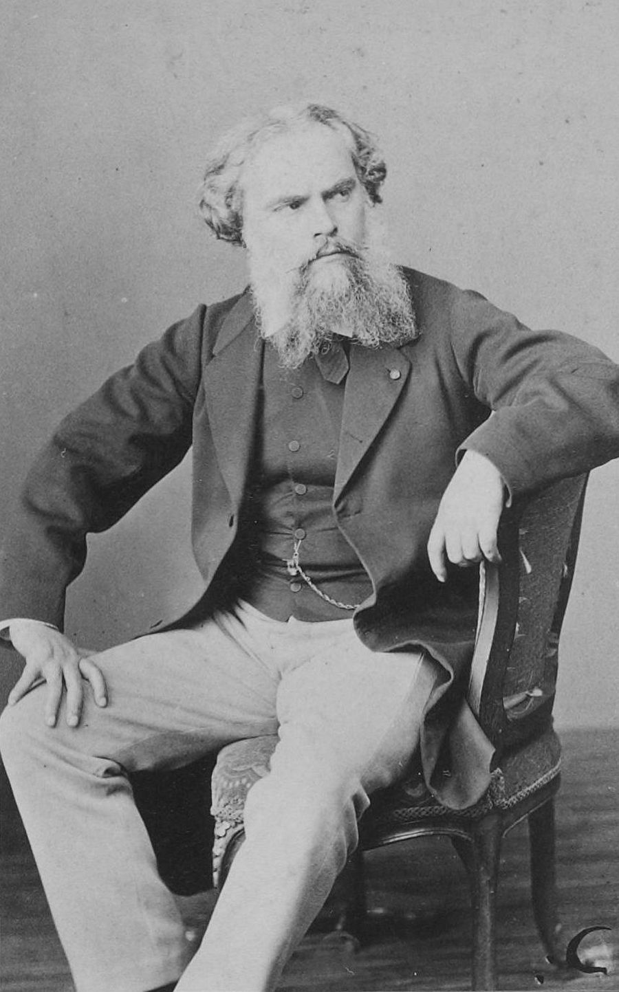 Portrait of Alexandre Cabanel, between 1860 and 1875 by Robert Jefferson Bingham