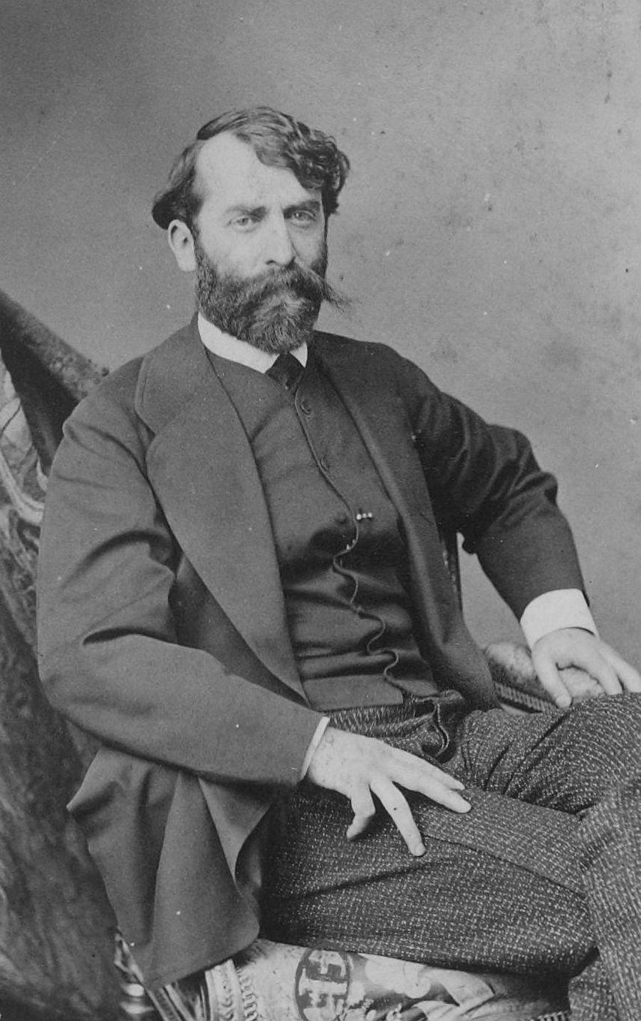 Portrait of Ferdinand Heilbuth, between 1860 and 1875 by Robert Jefferson Bingham