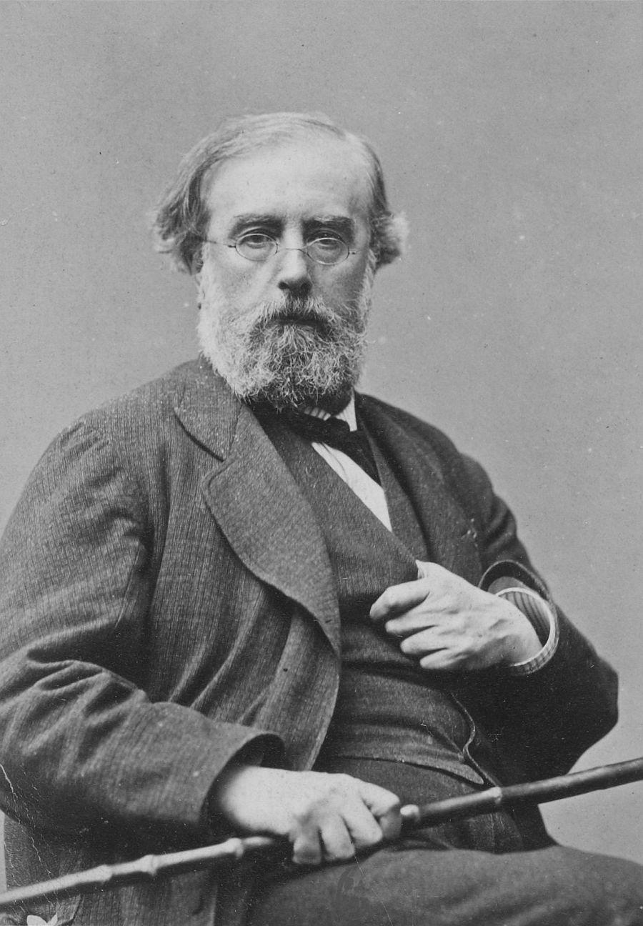 Portrait of Auguste Gendron, between 1860 and 1875 by Robert Jefferson Bingham