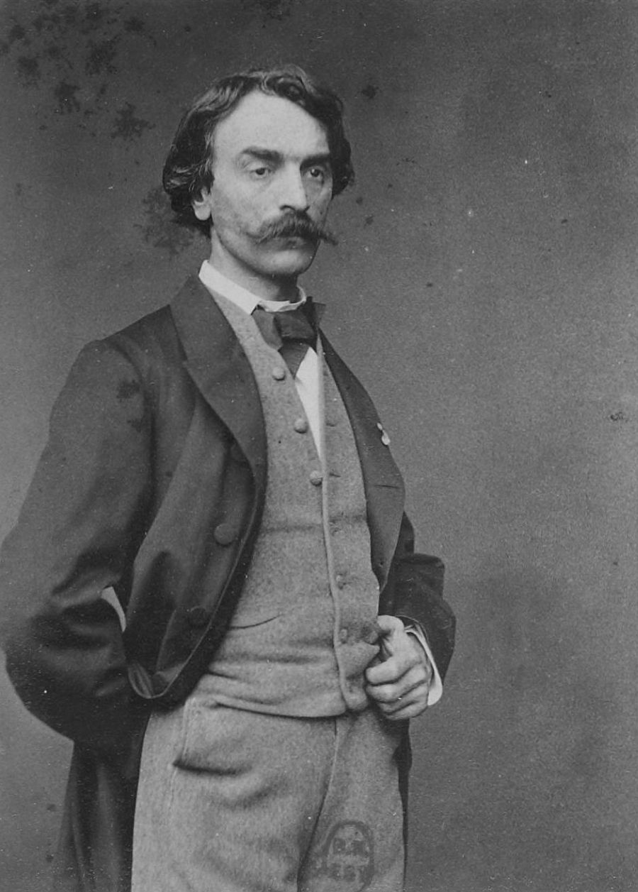 Portrait of Jean-Léon Gérôme, between 1860 and 1875 by Robert Jefferson Bingham
