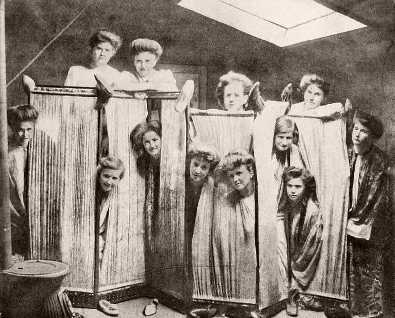 Midnight Slippers, Salem College, 1907