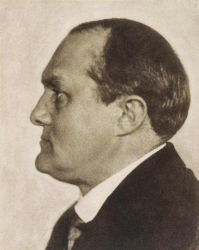 Hugo Erfurth: Max Beckmann, 1928 © VG Bild-Kunst, Bonn, 2018; courtesy Die Photographische Sammlung/SK Stiftung Kultur; Photo: Niklas Rausch