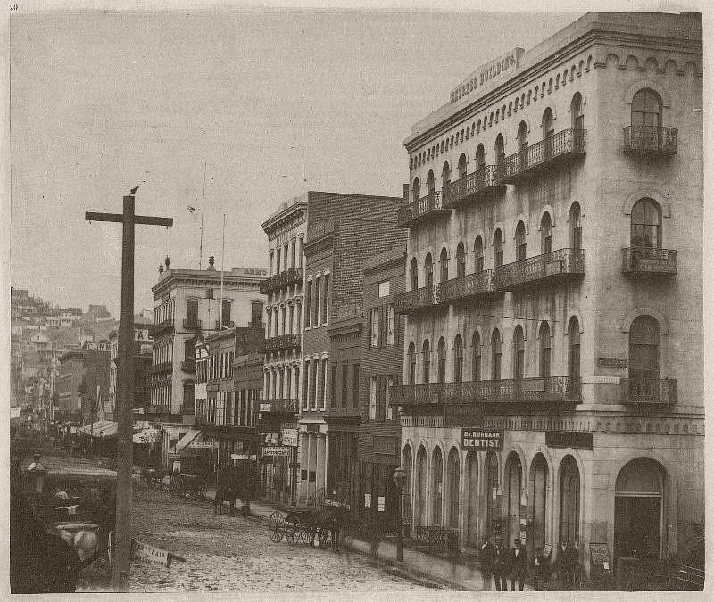 East side of Montgomery Street