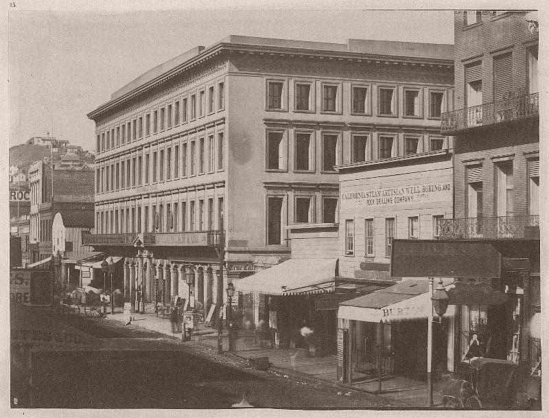 Montgomery Block, Montgomery Street