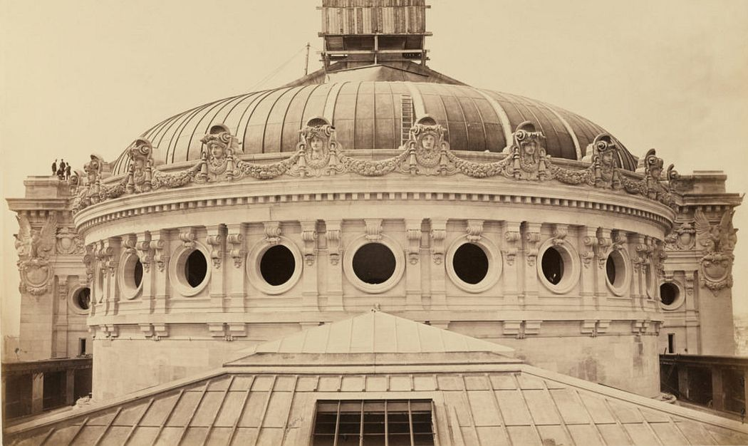 Delmaet & Durandelle French photography studio, ca. 1862–1890 Men on the Dome, from The New Paris Opéra c. 1869