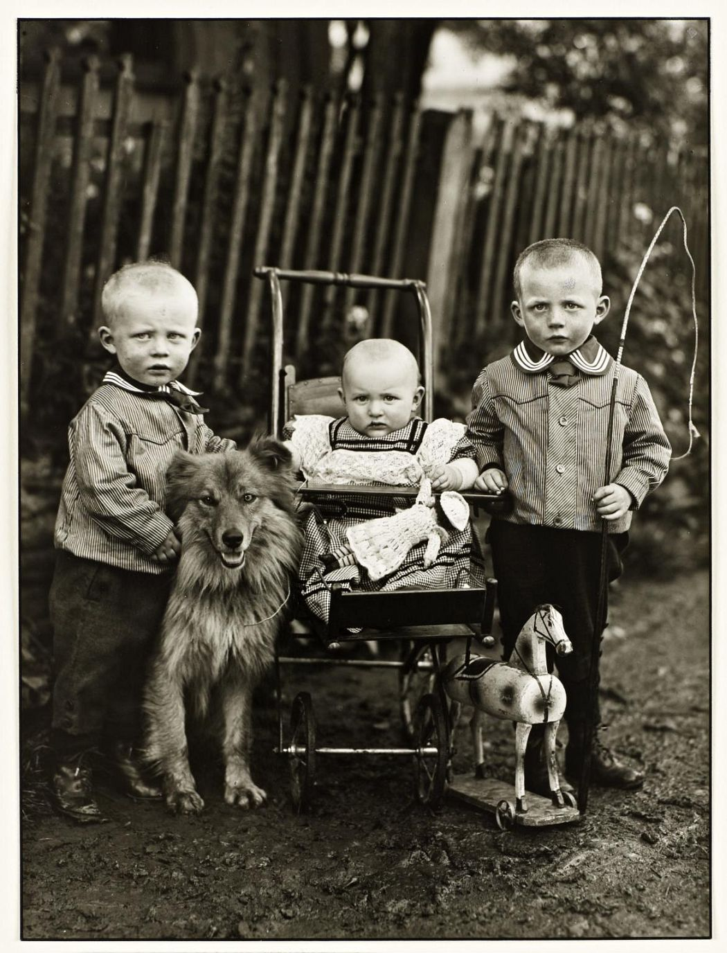 Farm Children c.1913, printed 1991 August Sander 1876-1964 ARTIST ROOMS Tate and National Galleries of Scotland. Lent by Anthony d'Offay 2010