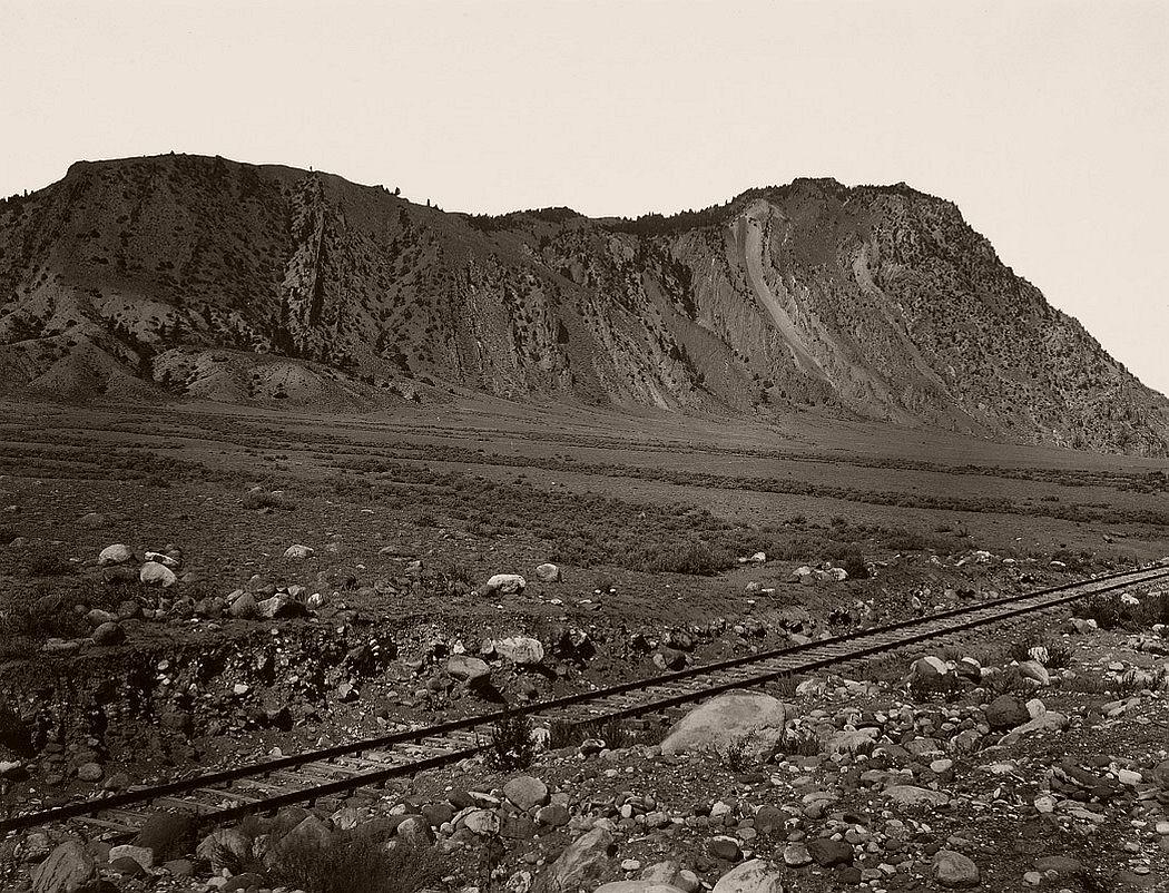 Frank Jay Haynes, Cinnabar Mountain, Devil's Slide 1890
