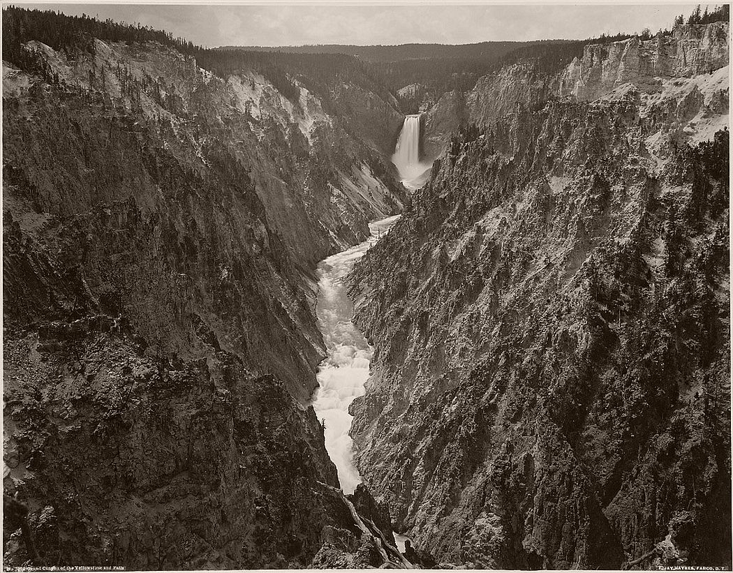 Frank Jay Haynes - Grand Canyon of the Yellowstone and Falls