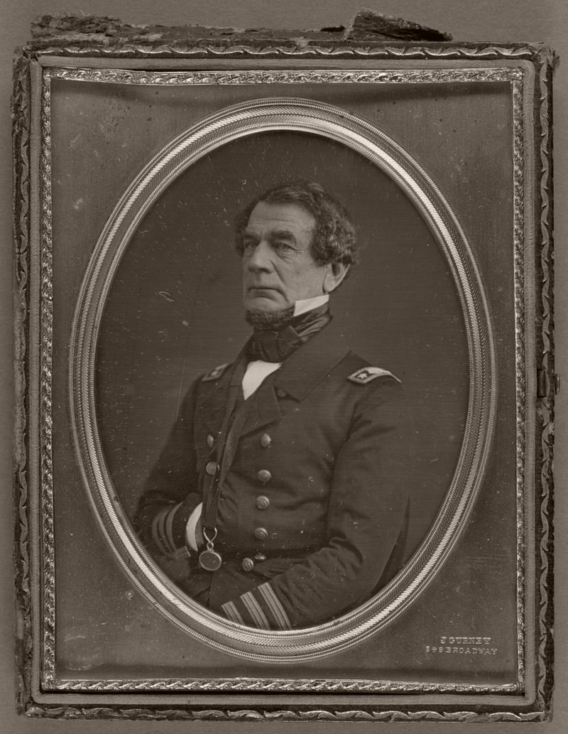 Portrait of an Unidentified American Navy Captain, American, about 1855