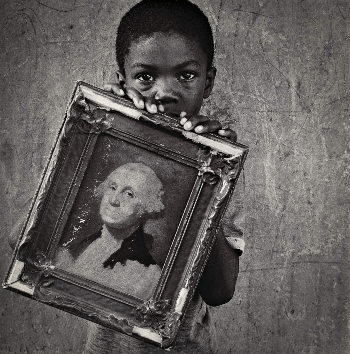 George Washington by Keith Carter, 1990