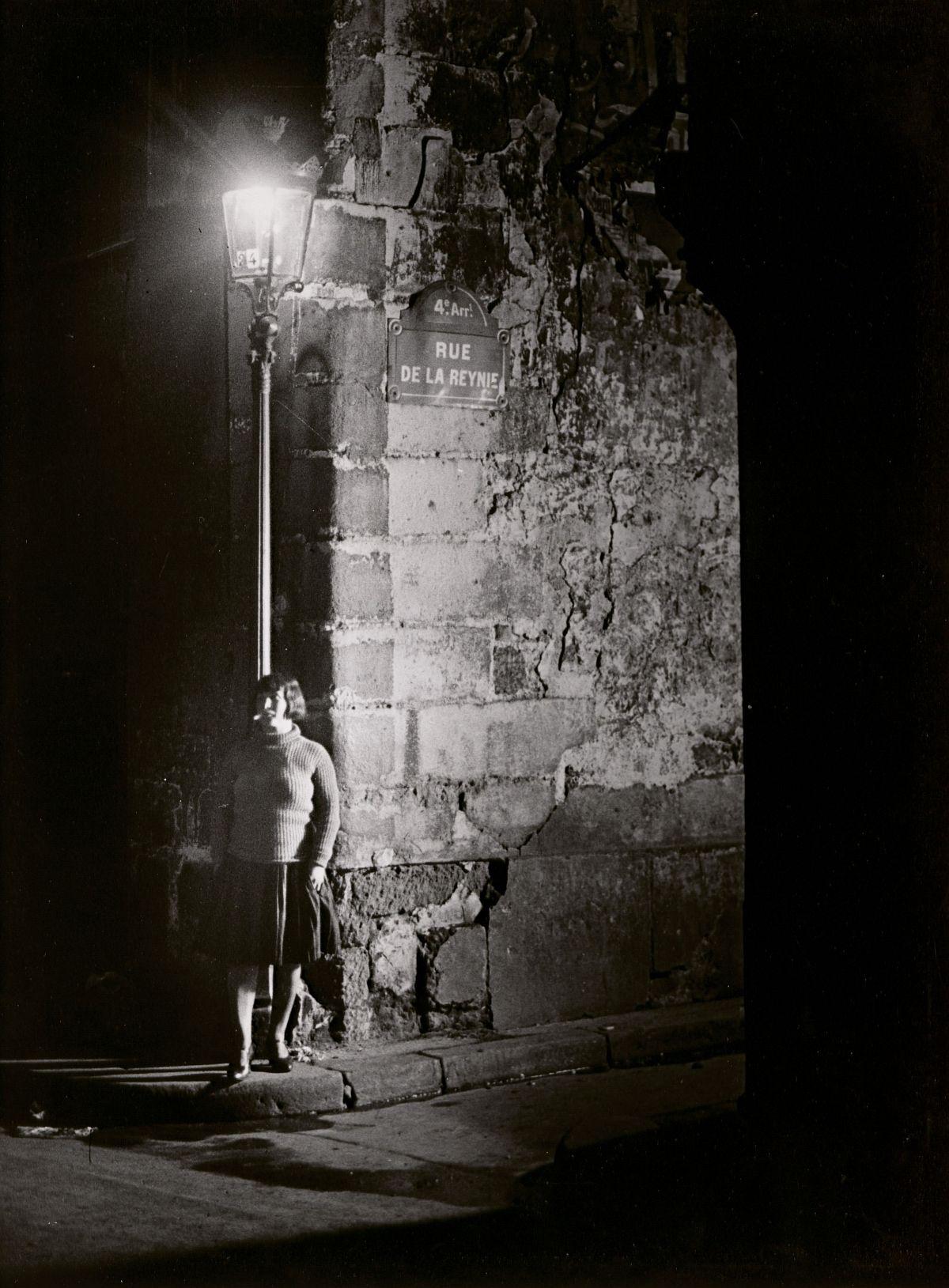 Brassaï, Fille des Halles, Pres de Sebastopol, c. 1932