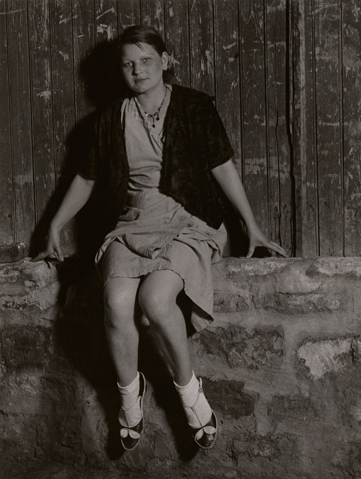 Brassaï, Young prostitute, near the Place d'Italie, c. 1932