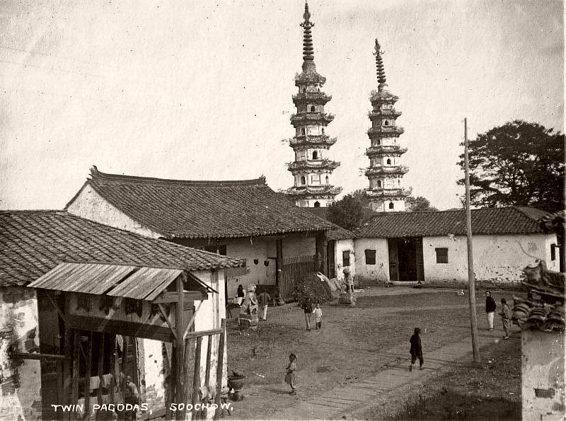 Twin Pagodas, Suzhou