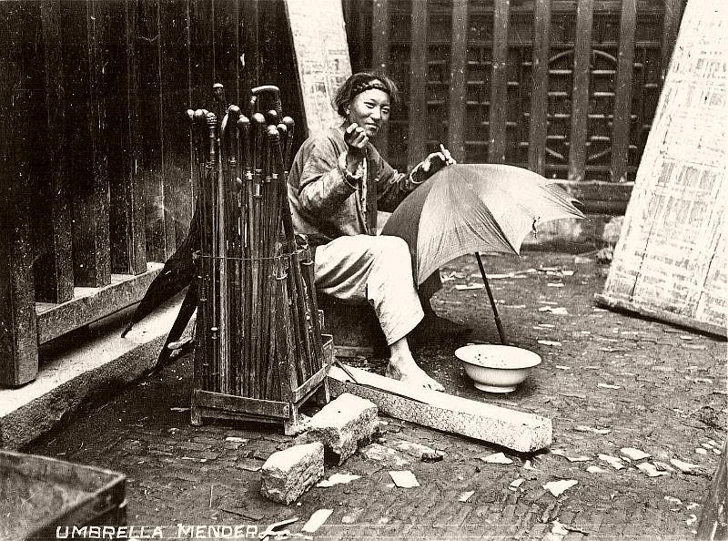Umbrella mender
