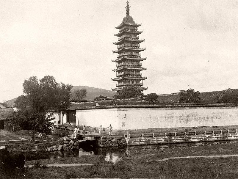Songjiang Square Pagoda (near Shanghai)