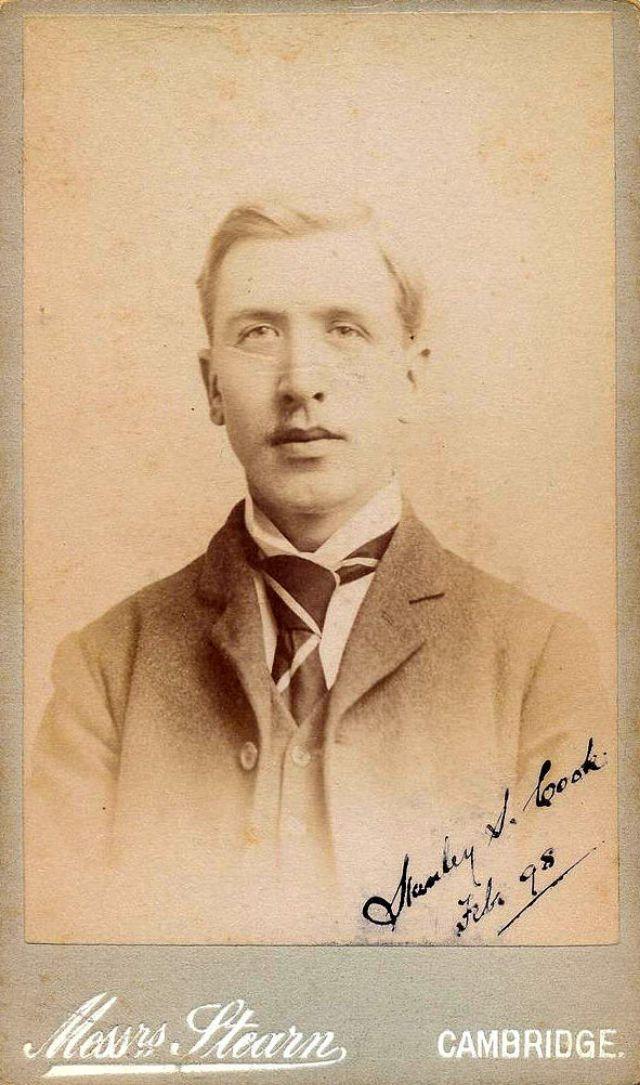 Stanley S. Cook, Feb. 1898