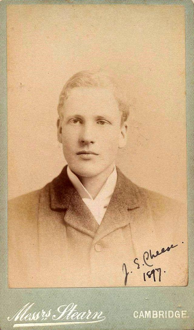 J.E. Cheese, 1897